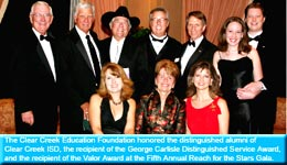 CCISD - Clear Creek Education Foundation Honorees image
