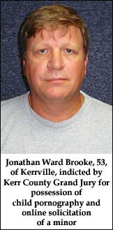 Government - Jonathan Ward Brooke of Kerrville, 54,  picture